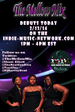 New Station Alert – The Mellow Mix Debuts on the Indie Music Network!