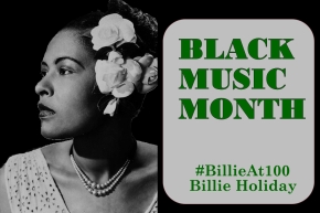 African American Music Appreciation Month – Billie Holiday  @billieholidayhq